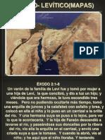 Éxodo- Levítico mapas