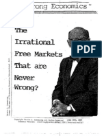 *The Irrational Free Markets that Are Never Wrong 7/09