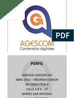 Perfil Agencia Gescom Sas