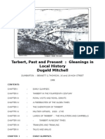 Tarbert - Past and Present - Gleanings in Local History - Dugald Mitchell - 1886