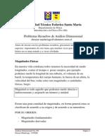 Materia y Resueltos Analisis Dimensional Fis-100