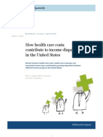 How Health Care Costs Contribute to Income Disparity in the United States