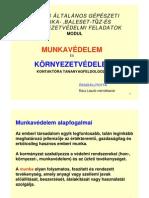 05 - Munka környezetvédelem kontaktóra tananyaga