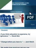 Training & Development Final