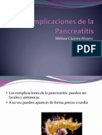 Complicaciones de La Pancreatitis