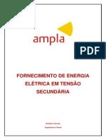 AMPLA-FORNECIMENTO DE ENERGIA ELETRICA EM TENSÃO SECUNDARIA
