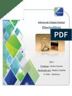 TP EDI Electrolisis