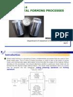 Sheet Metal Forming Processes