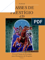 D20 - Classes de Prestigio 1
