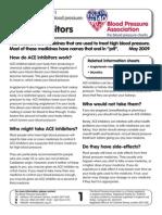ACE Inhibitors - Blood Hypertension