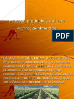 Proceso productivo del vino[1] Diaz Gúnter