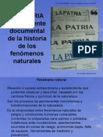 LA PATRIA Como Fuente Documental de La Historia