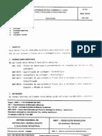 NBR 10618 - Eletrodos de Aco-carbono e Fluxos Para a Soldagem a Arco Submerso