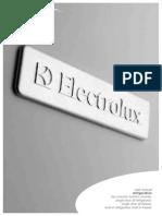 Electrolux Topandbottom Fridges Manual
