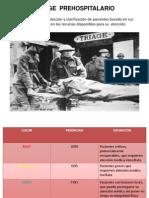 Triage Prehospitalario