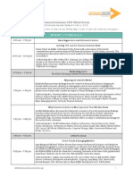 FI2020 Global Forum Preliminary Agenda Oct 2 2013