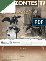 Horizontes , Poblacion de Mexico y Viloencia en El Correjimiento de Toluca