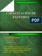 1. Capacitacion de Pastores