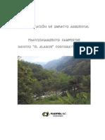 Ejemplo, Manifestacion de Impacto Ambiental Fraccionamiento Campestre