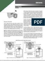 b w 1500 Install Manual