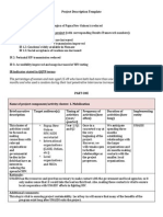 project description template hiv in papua new guinea oct-2013