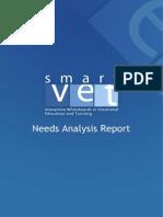 Needs Analysis Research Report _SmartVETproject