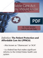 What You Should Know About the ACA