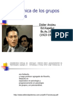 90393881 La Dinamica de Los Grupos Pequenos ANZIEU