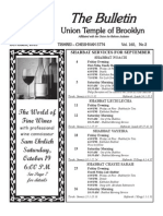 UT Bulletin October 2013