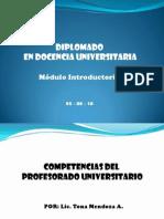 Competenciasdocente Universitario