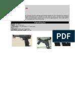 Primeira Guerra Mundial(Armas-Pistola Webley N. 1 Mk 1)