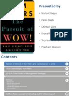 Critique-the pursuit of wow