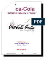 Anaiytical Study of Coca Cola