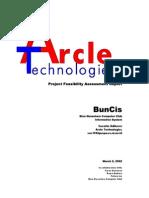 BNCC Information System  - Feasibility Study