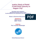Comparative Study of Soft Drinks Retail Sector in India