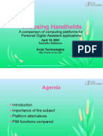 Choosing Handhelds - Slides 1pp