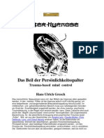 Gresch.hans-Ulrich.ritueller.missbrauch.das Beil Der Persoenlichkeitsspalter