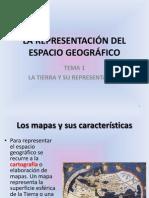 La Representacion Del Espacio Geografico
