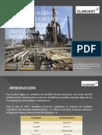 Cálculos básicos para tratamiento de fluido en la industria del petróleo
