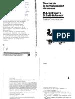De Fleur - Ball-rockeach - Teorias de La Comunicacion de Masas