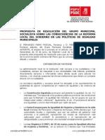11-06-2013-CONSECUENCIAS DE LA REFORMA LOCAL DEL GOBIERNO. POLÍTICAS IGUALDAD MUNICIPALES