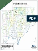 Toronto Flooding Area Map