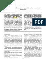 0-Makris-Gazetas 1996-Dynamic Soil Pile Foundation Structure Interaction