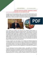 """2.10.2013 """"El PSOE muestra su apoyo y recibe a la Plataforma Regional en las Cortes de CLM"""""""