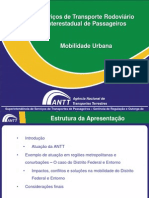Apresentacao Mobilidade Urbana - ANTT