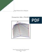 Geometria Afin y Euclidea