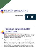 SEDIAAN SEMISOLIDA 2