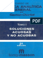 94919630 Curso de Quimica Analitica General Vol 1 Soluciones Acuosas y No Acuosas Charlot