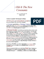 The Old and New Covenants Explained