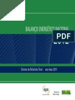 Balanço energético Brasil Relatório Final_2012_Web